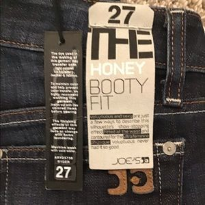 Joes jeans sz27 brand new w/ tags honey booty fit